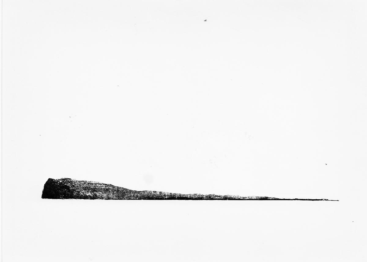 Lands end, suiker aquatint, 1979