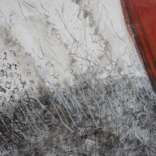 detail tekening, 2010-2013, 150 x 265 cm
