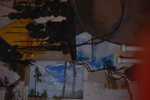 Wall nr1, 2000, Tom (9jr) en Wim Vonk