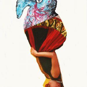 als vreemde vogel met dank aan Liesje van Tuyl