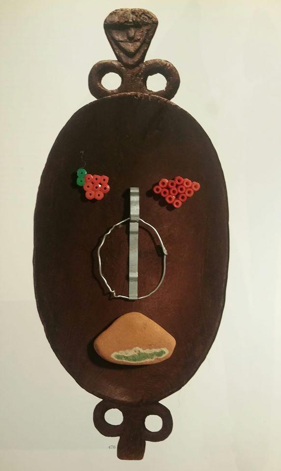 Mask KwasiOceanic Art.