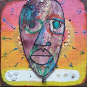 Mask Testbeeld 70 ARTTRUST Kwasiafrikani