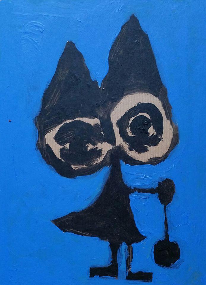 Zelfportret met jojo